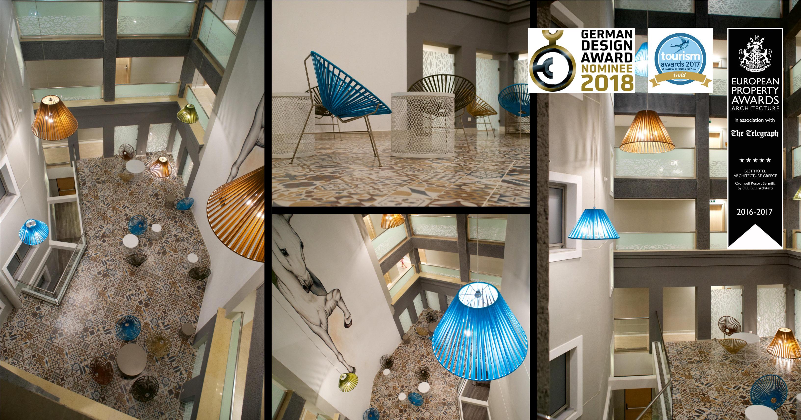 News del blu for Design hotel awards